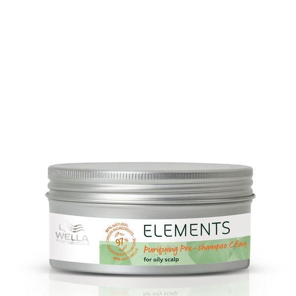 Wella Elements Purifying Pre-Shampoo Clay - 225 ml