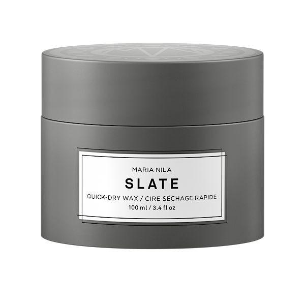 Maria Nila Minerals Slate Quick-Dry Wax sehr starker Halt 100 ml