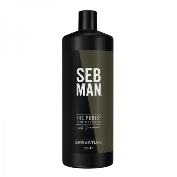 SEB MAN The Multitasker - 3in1 - Hair, Beard & Body Wash 1l