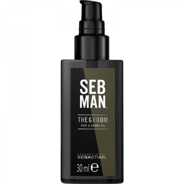 SEB MAN The Groom - Hair & Beard Oil 30ml